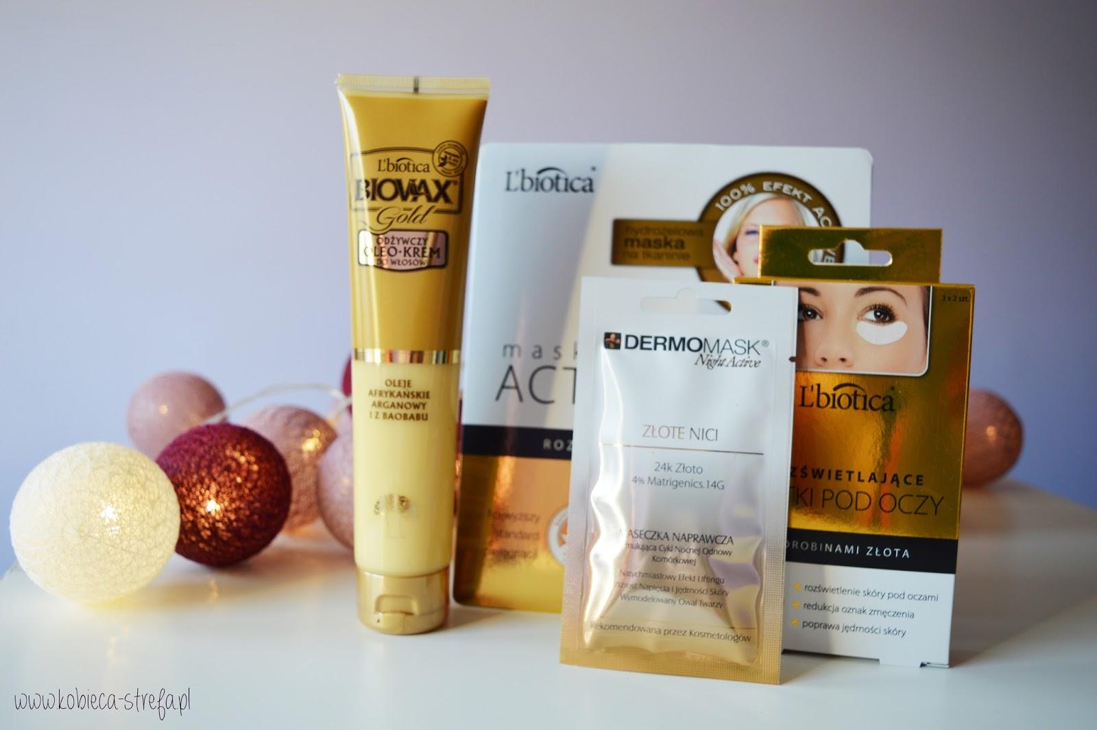 L'Biotica linia GOLD - idealny pomysł na świąteczny prezent