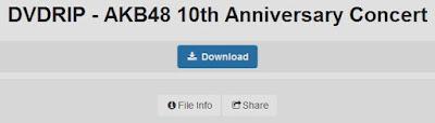 dvdrip download akb48 10th ultah anniversary concert stage konser bluray hd video