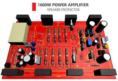 1600W Power Amplifier + Speaker Protector
