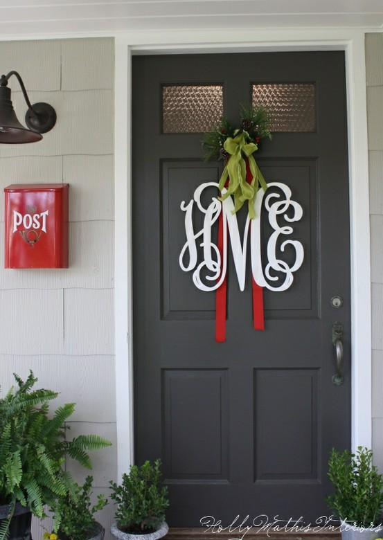 Horse Country Chic: Monogram Wreaths