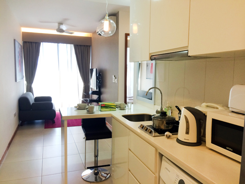 Avant at Aljunied 1 Bedroom - Kitchen