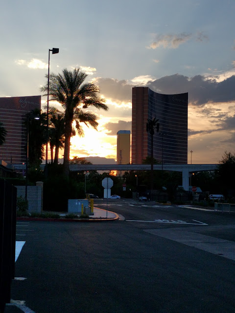Gorgeous Sunset in Las Vegas, NV