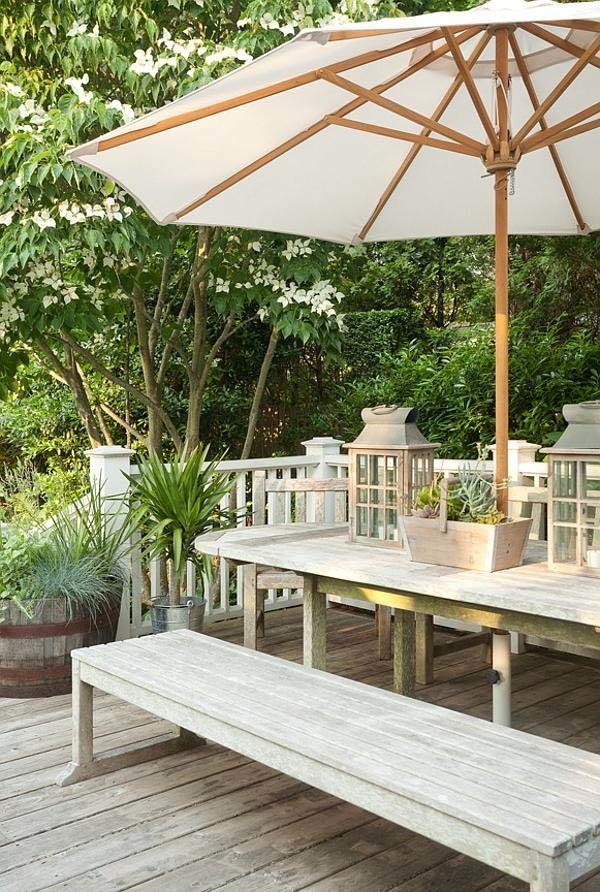 Coastal style beachy hamptons home part 2 for How to decorate your backyard