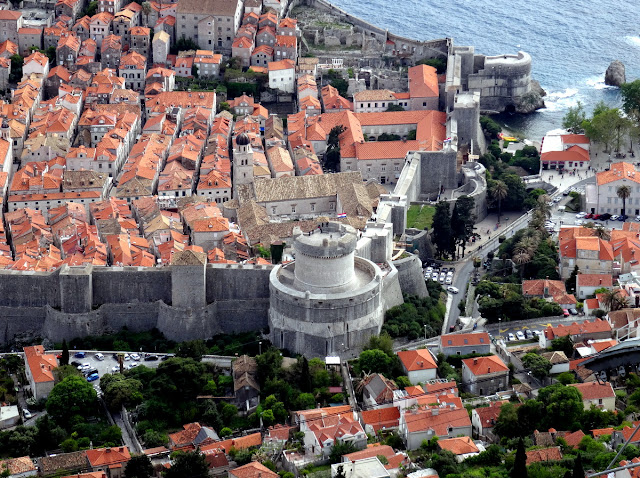 Minceta Tower Main Entrance Dubrovnik Old Town, Croatia