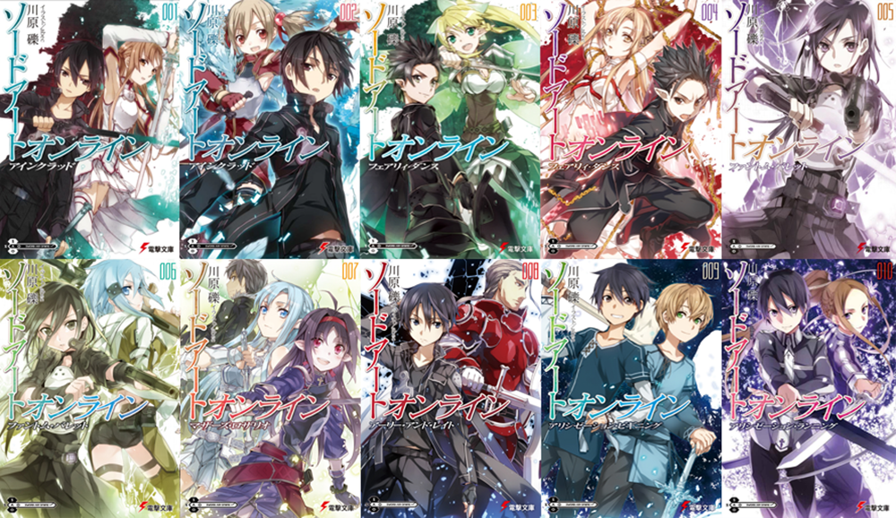Light Novel Sword Art Online Download