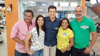João, Vânia, Celso, Vanessa e Hermano (Crédito: Divulgação/SBT)