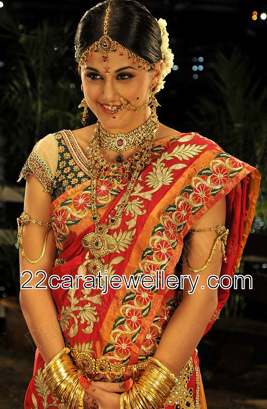 Tapsee Pannu Bridal Jewelry Jewellery Designs