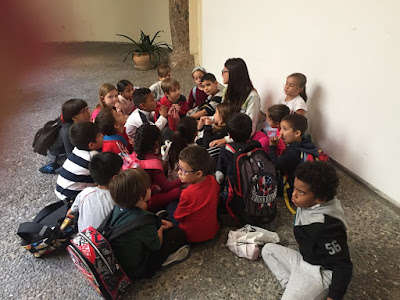 Visita al Casal Solleric, 1r Primària - 2018