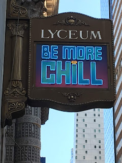 Be More Chill at the Lyceum Sign