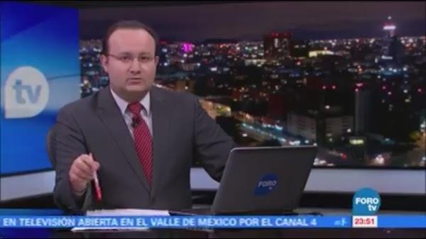 Conductor de TV transmite terremoto EN VIVO y recuerda el 85 (VIDEO)