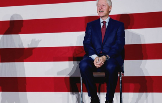 Time's Up, Democrats. Throw Bill Clinton under the Bus.