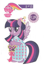 My Little Pony Tattoo Card 11 Series 3 Trading Card