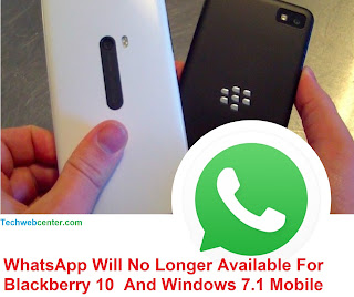 WhatsApp Will No Longer Available For BlackBerry