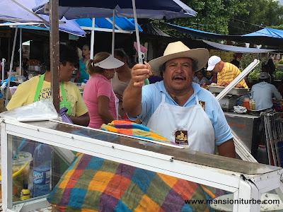 Carnitas Carmelo in Quiroga, Michoacán