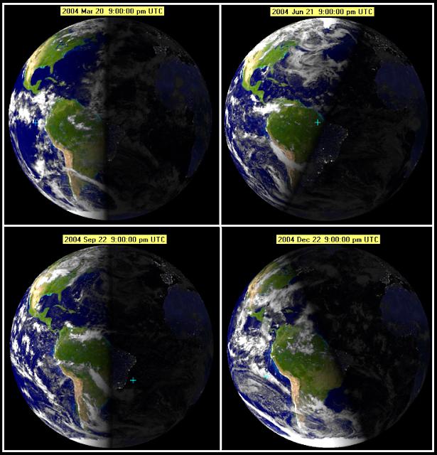 Earth's-Tilt -The-Reason-For-Change-In-The-Seasons