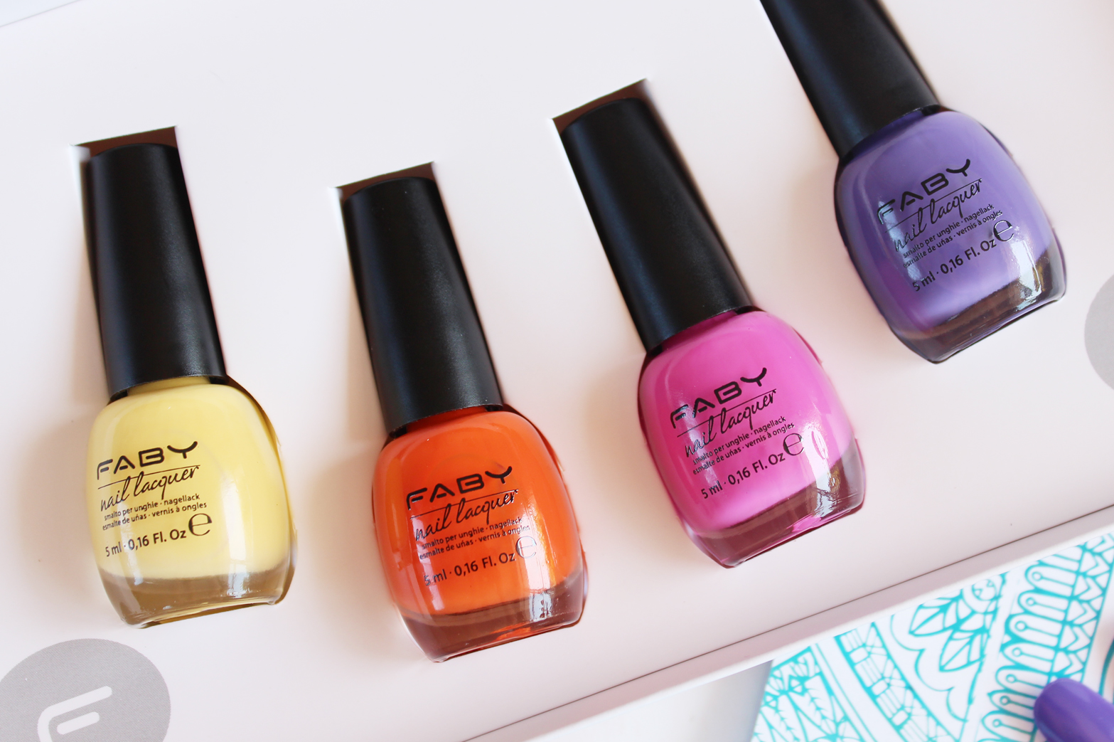 FABY | Music Spring/Summer 2015 Nail Lacquer Collection - Review + Swatches - CassandraMyee