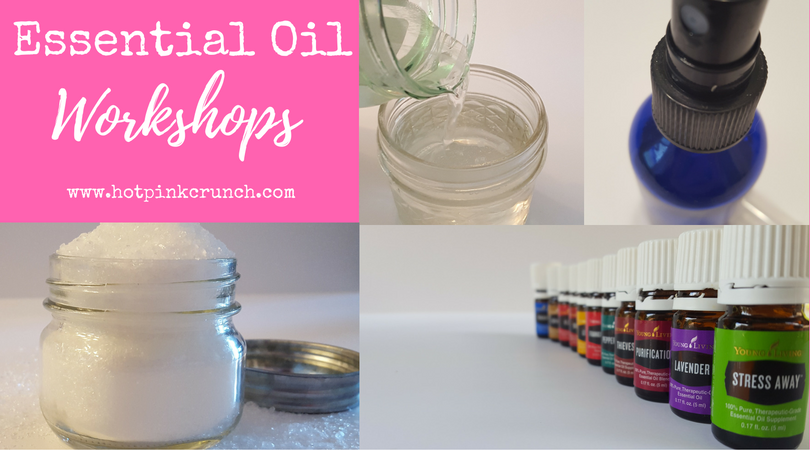Essential Oil Workshops | Hot Pink Crunch