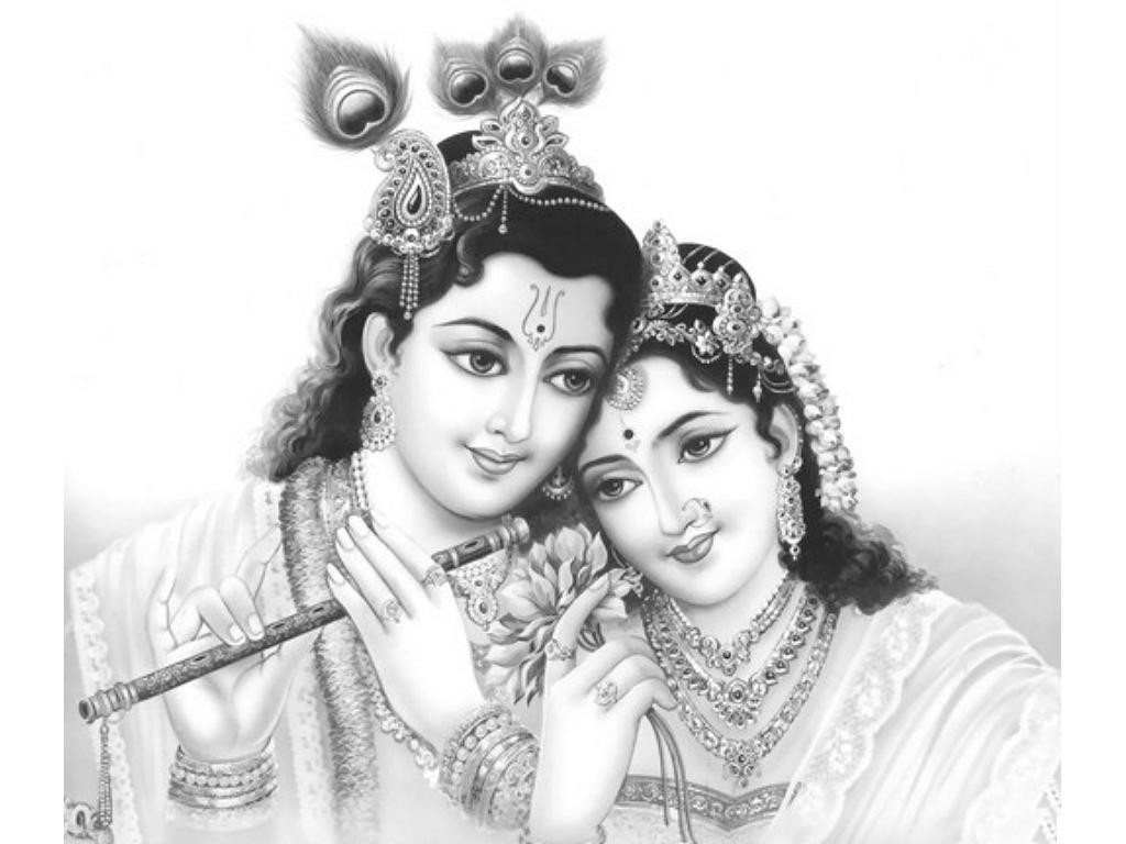 black & white radha krishna true love pic hd free download