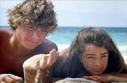 Christopher Atkins en The blue Lagoon