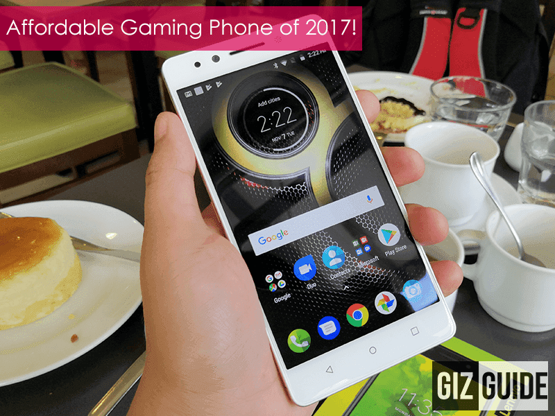 Editor's Choice: Affordable Gaming Smartphone of 2017 - Lenovo K8 Note!