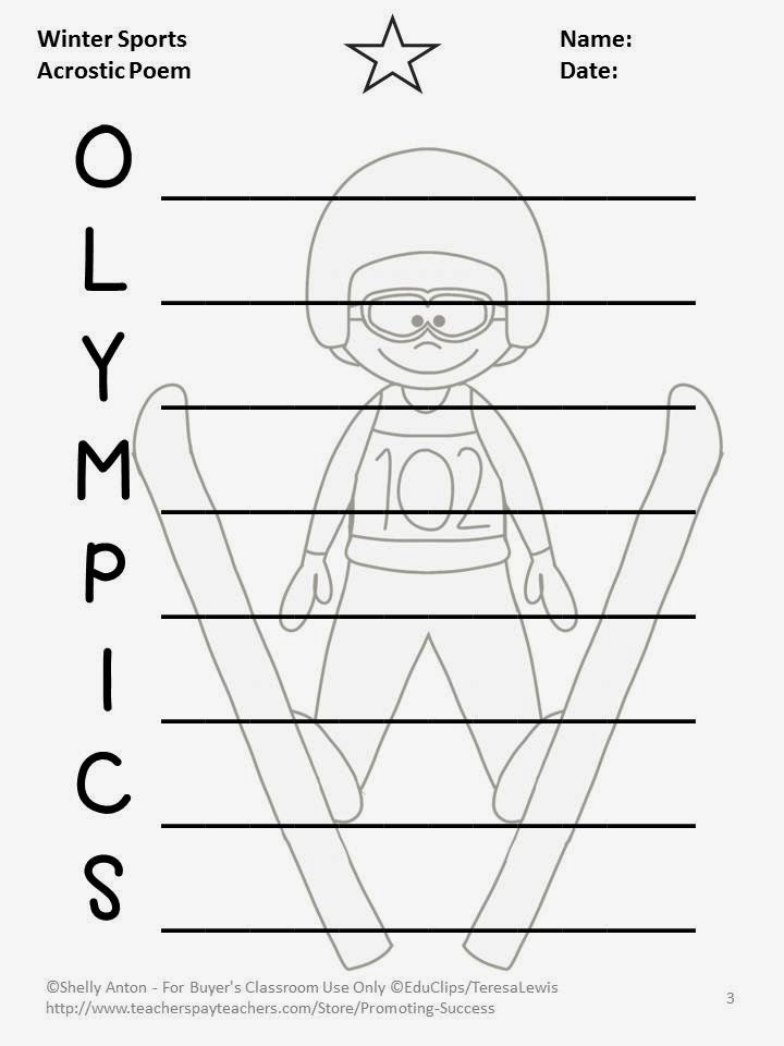 6. Read aloud books about the Olympics: