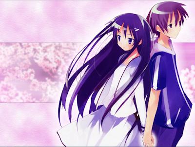 Download Hanbun no Tsuki ga Noboru Sora episode 1-6 End subtitle indonesia