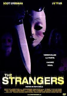 affiche française du DVD de THE STRANGERS, home-invasion avec Liv Tyler, french poster, Vérouillez la porte Cachez-vous