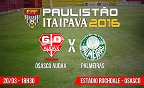 Campeonato Paulista de futebol Palmeiras e Audax