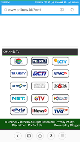 live streaming di online tv