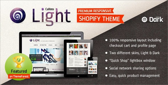 responsive shopify template