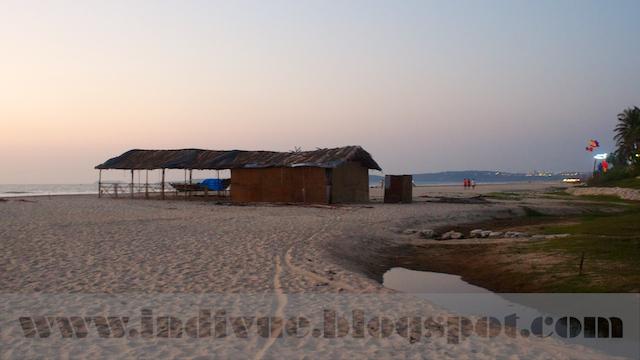 Utorda Beach, Goa, Intia