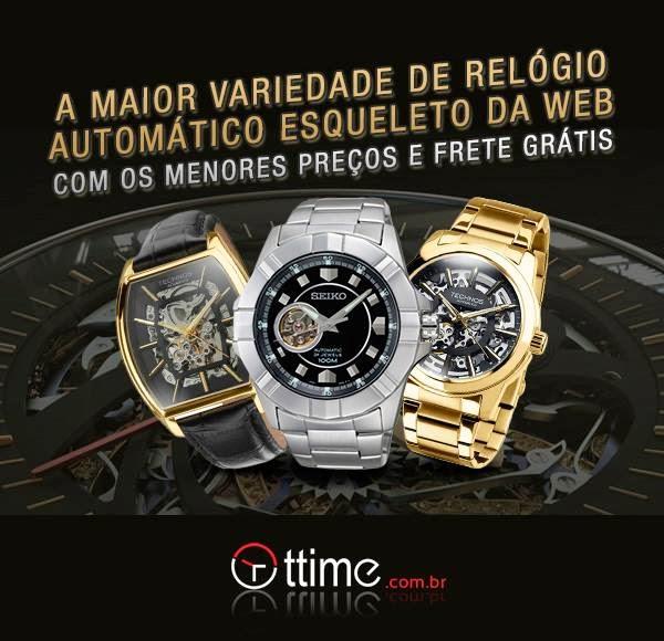 RELÓGIOS AUTOMÁTICOS ESQUELETO A MAIOR VARIEDADE DA WEB   Relógios ... ec5a8bdf8d