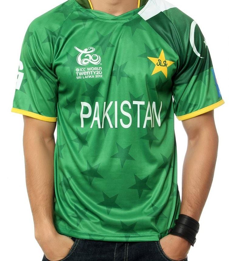 Pakistan Team Jersey T20 World Cup 2016 Buy Online Shopping T-Shirt ...