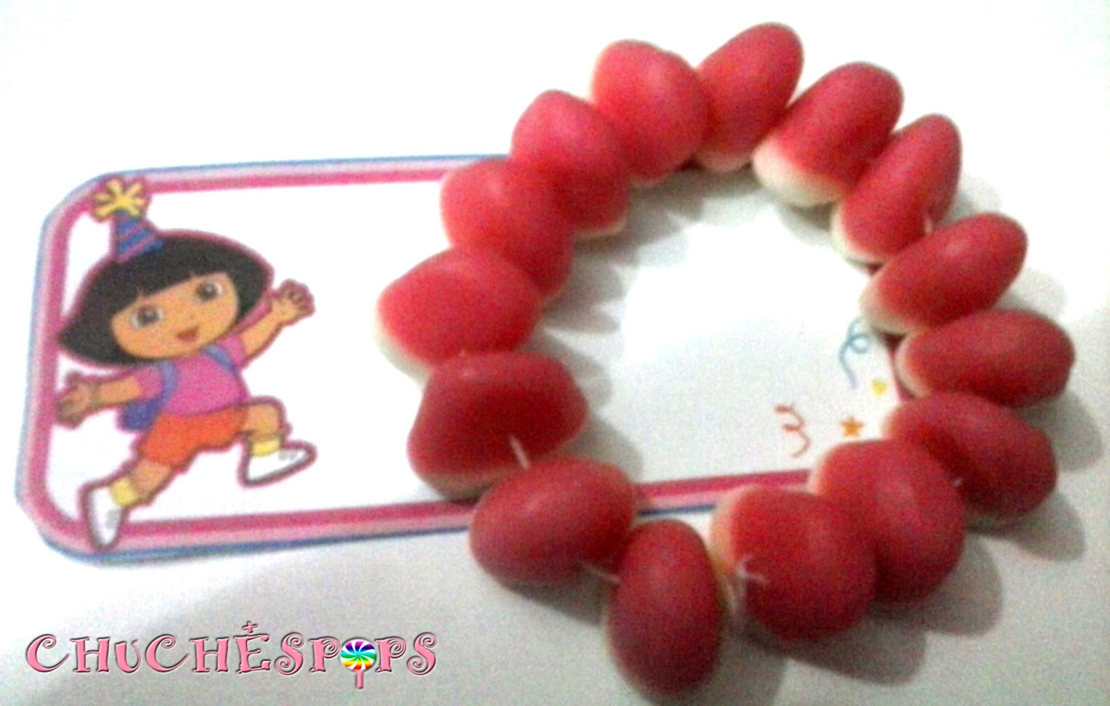 pulsera besitos de chuches