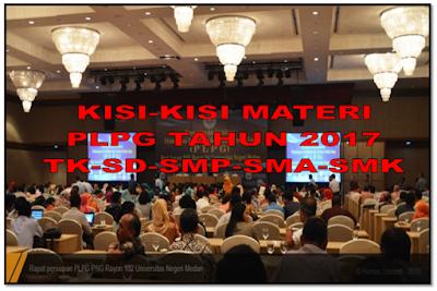 Materi soal PLPG guru Penjaskes