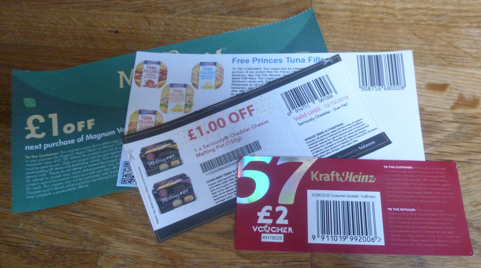 Challenge Three - Freebies, Vouchers and Coupons