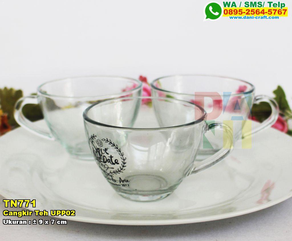Cangkir Teh UPP02   Souvenir Pernikahan