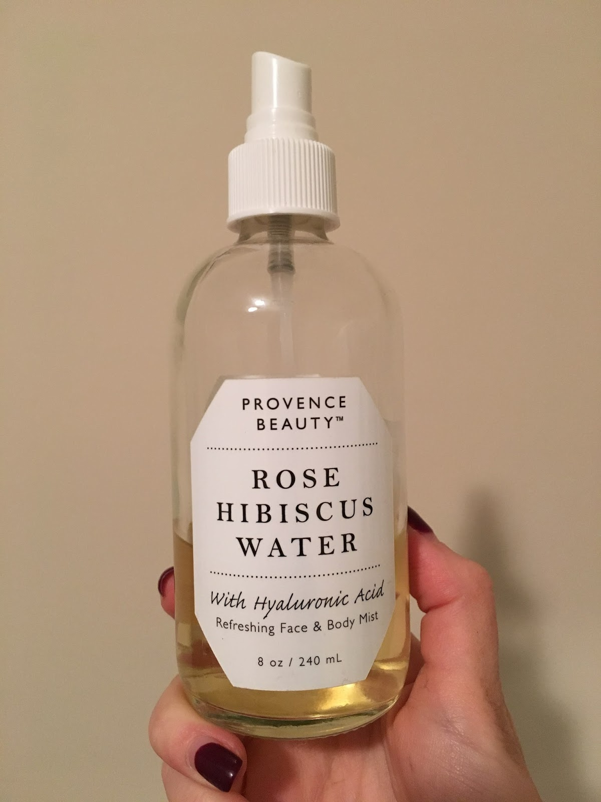 Provence Beauty Rose Hibiscus Water