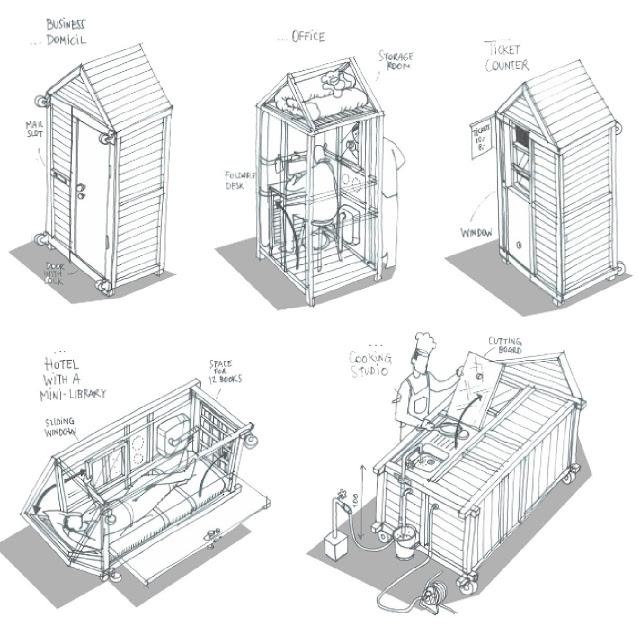 منزل صغير, شقة صغيرة جدا, اصغر بيت في العالم