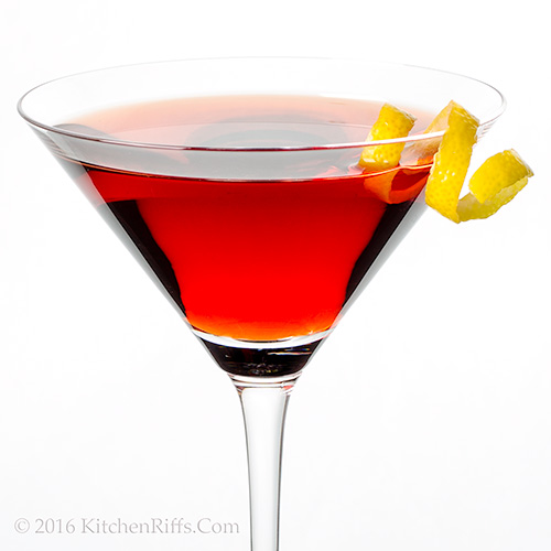 The Boulevardier Cocktail