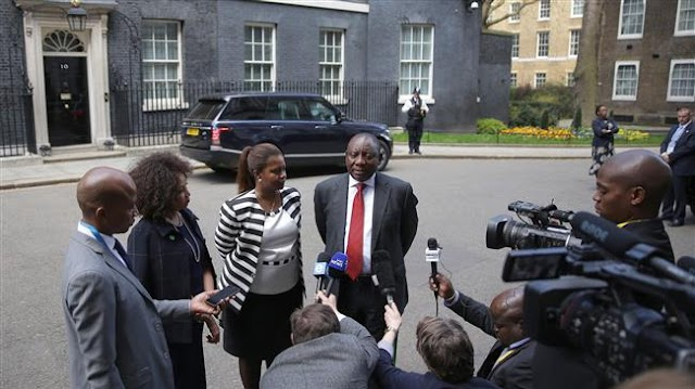 South Africa's President Cyril Ramaphosa cuts short UK visit amid unrest at home