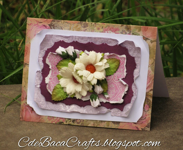 White Chrysanthemum Card_CdeBacaCraftsCard