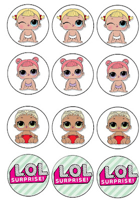 lol dolls party printables