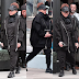 Janet Jackson  steps out in all black ensemble