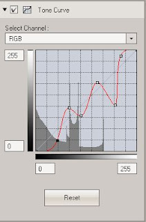Olympus Viewer 3: Tone Curve tool