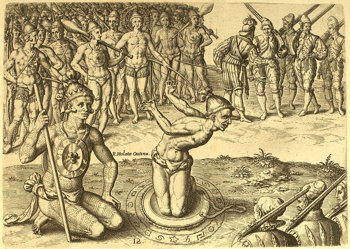 Bensozia Jacques Lemoyne And The Timucua Indians