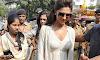 Deepika Padukone in white dress under Hot Sun