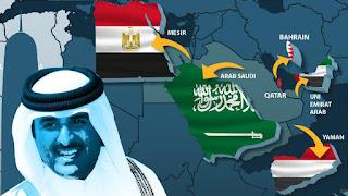 Qatar Sebut Negara Teluk Arab Lakukan Kebijakan Dominasi