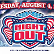 National Night Out - August 4th