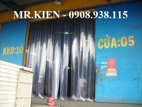 Lắp đặt cửa màn nhựa PVC ngăn bụi Công ty TNHH Hanjin Logistics Việt Nam